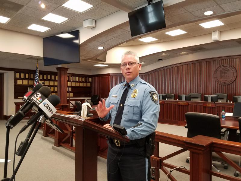 Chatham County Police Chief Jeff Hadley discusses policing plans for the de-merger Feb. 1.