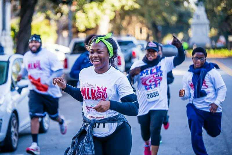Saturday brings the annual Unity 5K on MLK and music festival on Forsyth Park.
