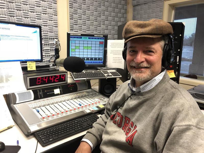 Tom Barton at the GPB Studio in Savannah.