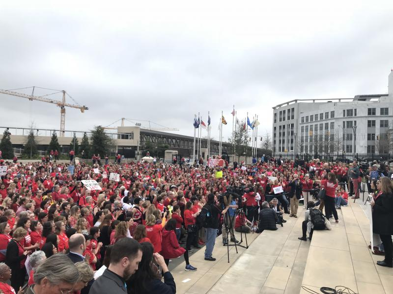 The annual event for Moms Demand Action For Gun Sense draws a record crowd this year.