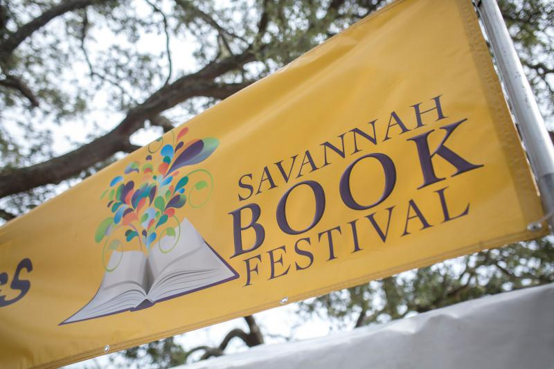 Telfair Square will be all books this Saturday for the Savannah Book Festival.