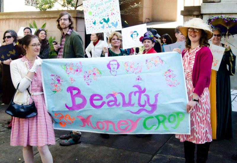 The Flannery O'Connor birthday parade and street fair returns to Lafayette Square on Sunday.