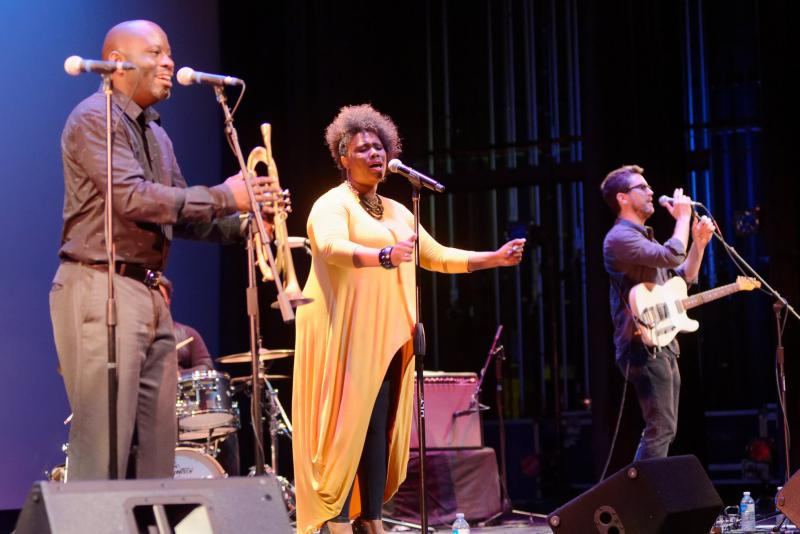 Ranky Tanky, of Charleston, will play the SMF-commissioned Gullah Roots show Sunday with Etienne Charles