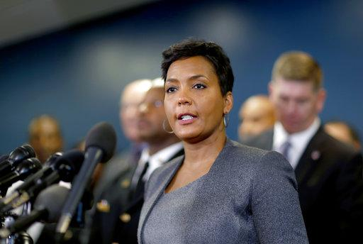 "Atlanta Mayor Keisha Lance Bottoms calls the cyber attack a ""hostage situation"" at a March 26 press confereence."