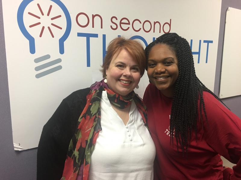 Alison Law (left) and Nicki Salcedo