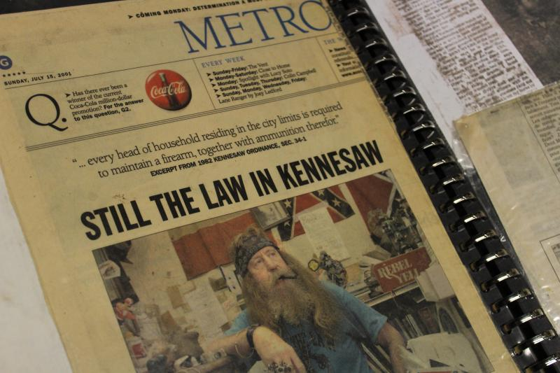 Kennesaw's ordinance has made headlines locally, nationally and internationally.