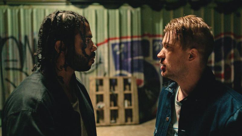 "In ""Blindspotting,"" lifelong friends Daveed Diggs and Rafael Casal explore issues of race and class in Oakland, California."