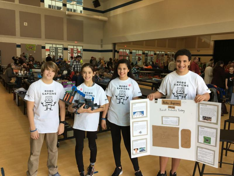 "The ""Robo Sapiens"" gives middle schoolers in Dacula the opportunity to explore real-world applications of STEM disciplines."