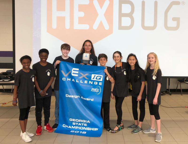 Middle school students from Dacula, Georgia, hope to bring home another win from the  2018 VEX Robotics World Championship.