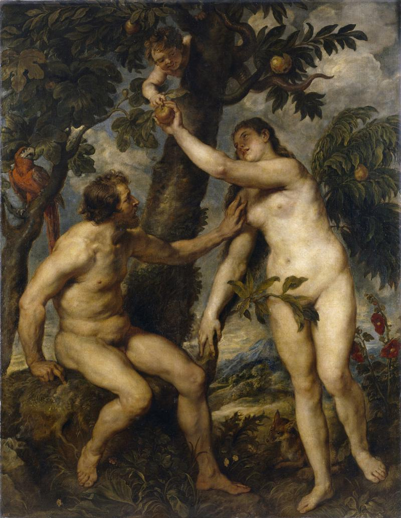 """The Fall of Man"" by Peter Paul Rubens."