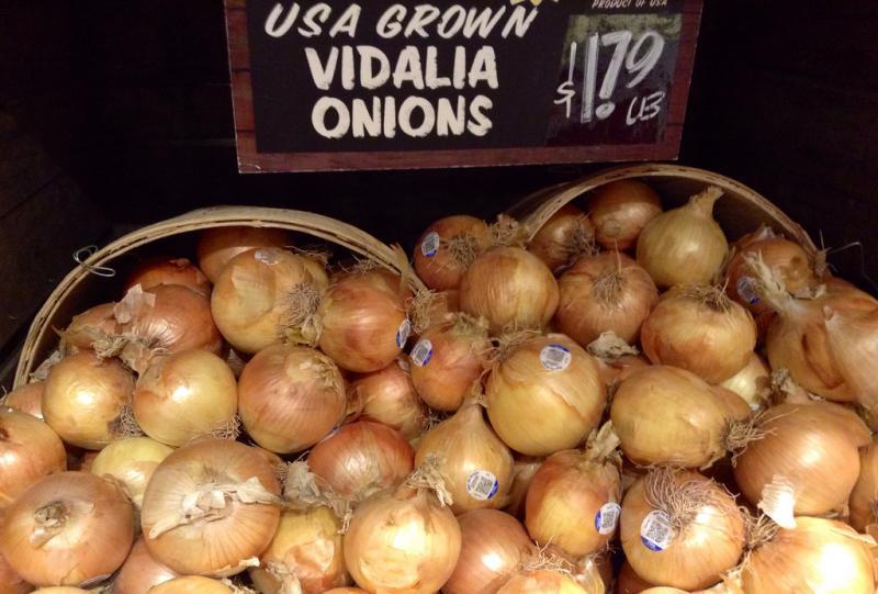 Vidalia onion season is upon us. The sweet onions hit shelves Friday.