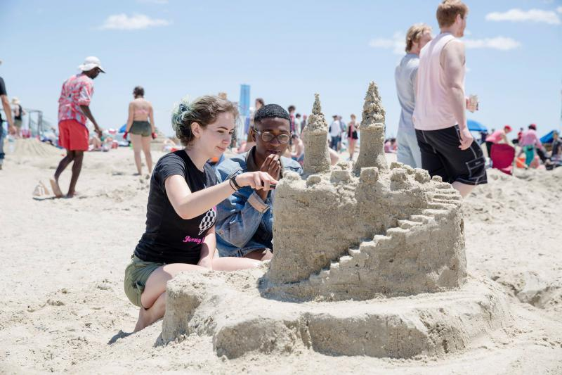 Sand artists will compete this weekend at the annual Sand Arts Festival.