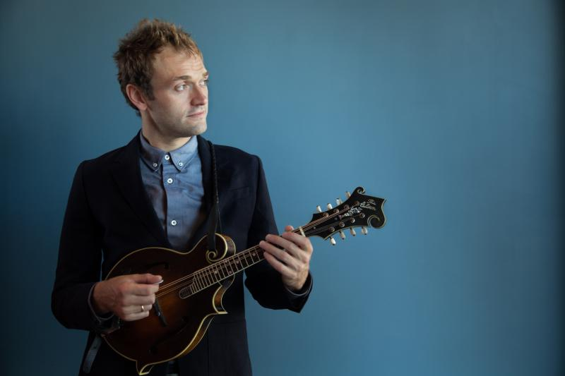 "Chris Thile is in his second season as host of the public radio show ""Live From Here,"" formerly known as ""A Prairie Home Companion."""