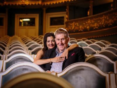 Opera singers Sherrill Milnes and Maria Zouves work to bring new talent to the opera scene in Savannah, Georgia.