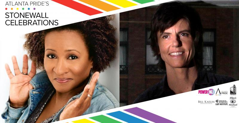 Wanda Sykes (left) and Tig Notaro perform at the Fox Theatre Wednesday, June 20.