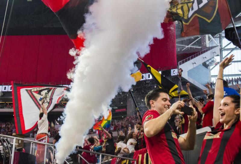 Atlanta United is sending six players to the MLS all star game.