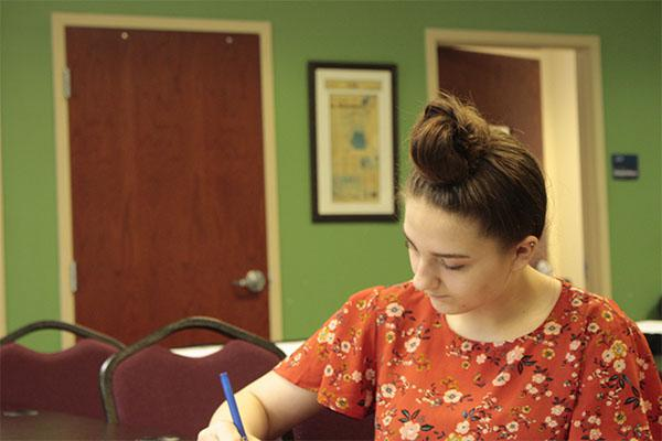Beth-Leah, 16, has lived at The Methodist Home in Macon for the past four years.