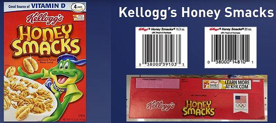 The Centers for Disease Control and Prevention says 100 people in Georgia and other states have been infected with salmonella after eating Kellogg's Honey Smacks.