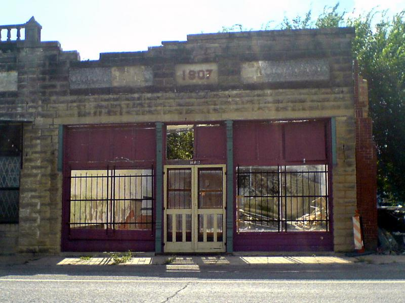 An old storefront