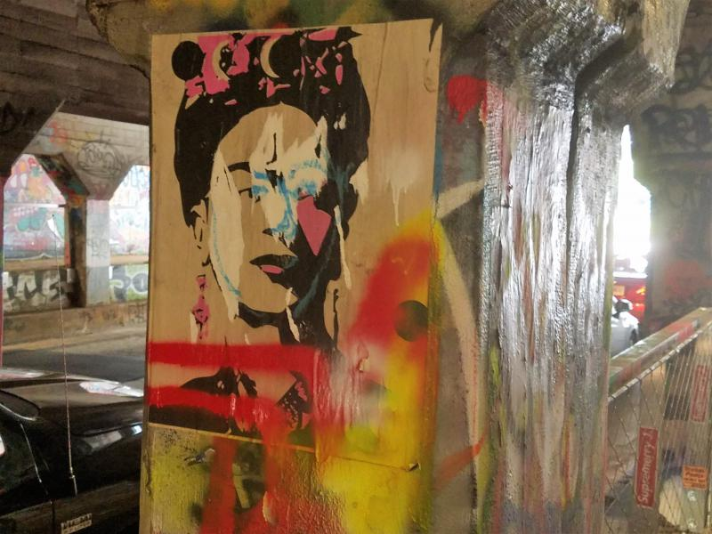 Graffiti in the Krog Street Tunnel