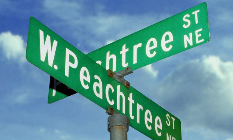 The World's Largest Peach Cobbler