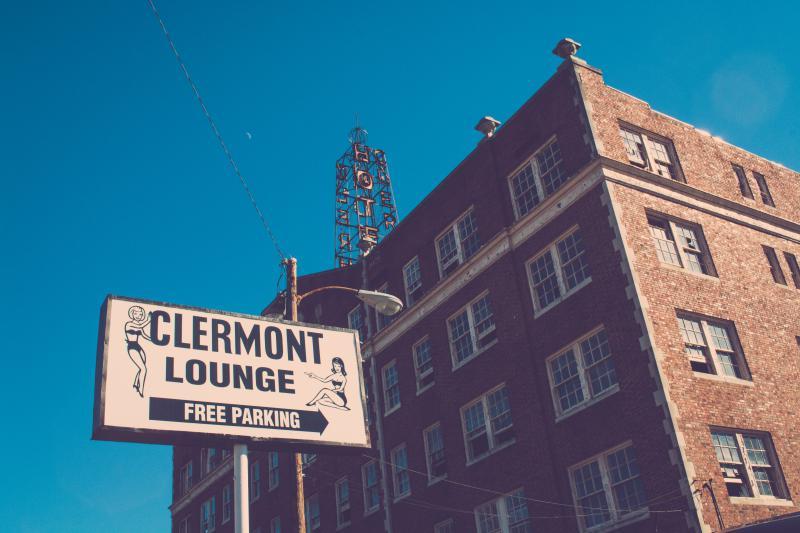 The Clermont Lounge in Atlanta, Georgia.