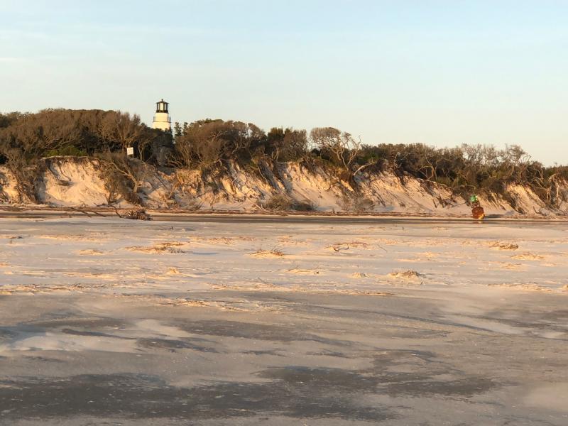 Little Cumberland Island Light House and dunes