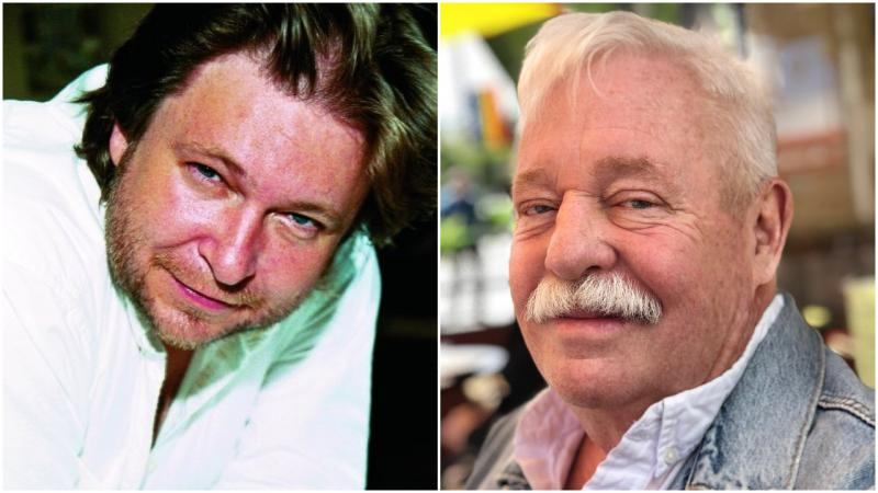 """From left: Rick Bragg (""""The Best Cook in the World""""), Armistead Maupin (""""Logical Family"""")."""