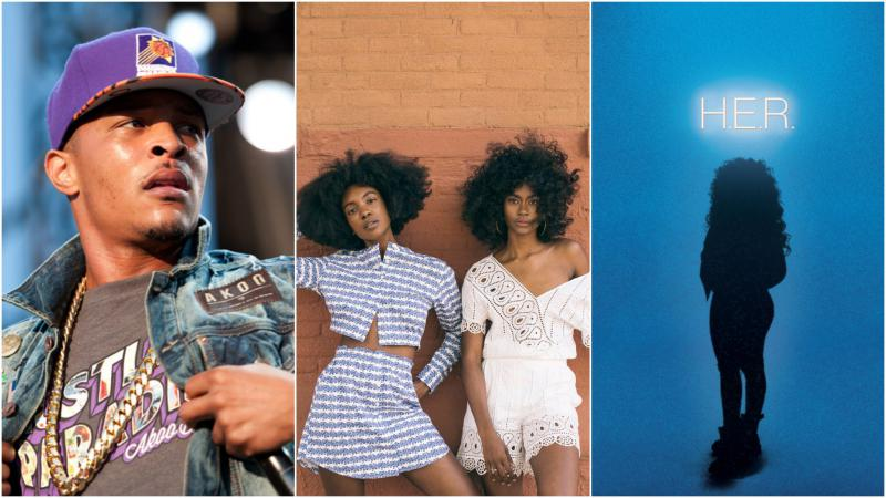 This weekend's ONE Musicfest will feature a number of high-profile artists, including T.I., St. Beauty  and H.E.R (left to right)