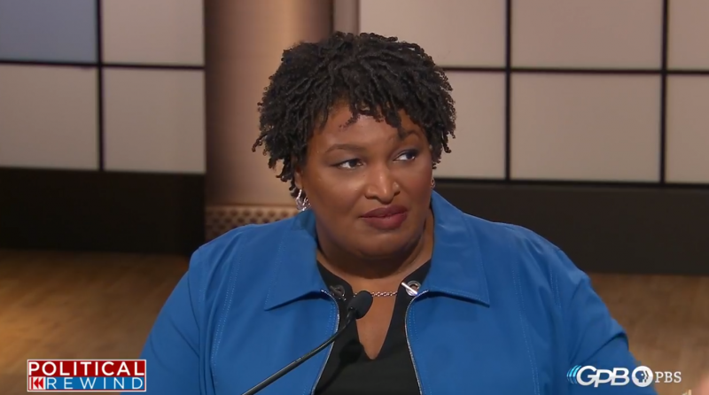 Democratic candidate for governor Stacey Abrams.