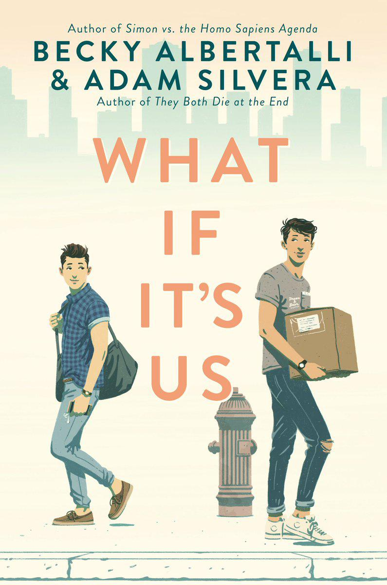 """Becky Albertalli and Adam Silvera's newest book together, """"What If It's Us,"""" is a young adult novel about two teen boys who fall in love after a chance meeting in a post office."""