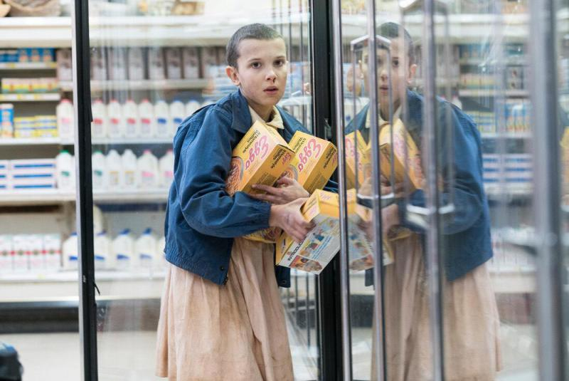 """Millie Bobby Brown, who plays Eleven on Netflix's """"Stranger Things."""""""