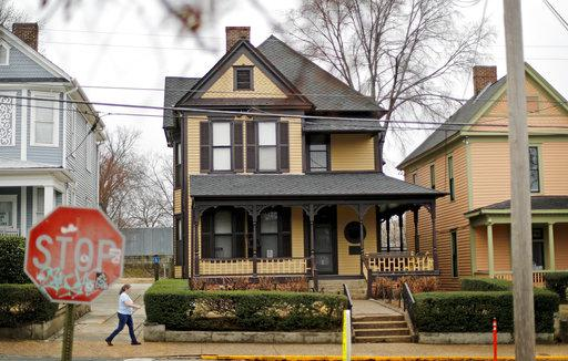 Rev. Martin Luther King Jr.'s birth home which is operated by the National Park Service. The National Park Service has bought the home in Atlanta, Georgia, where Martin Luther King Jr. was born in 1929.