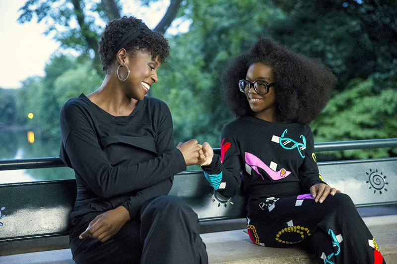 """Issa Rae and Marsai Martin star in the new film, """"Little,"""" which was filmed in Georgia and opens in April 2019."""