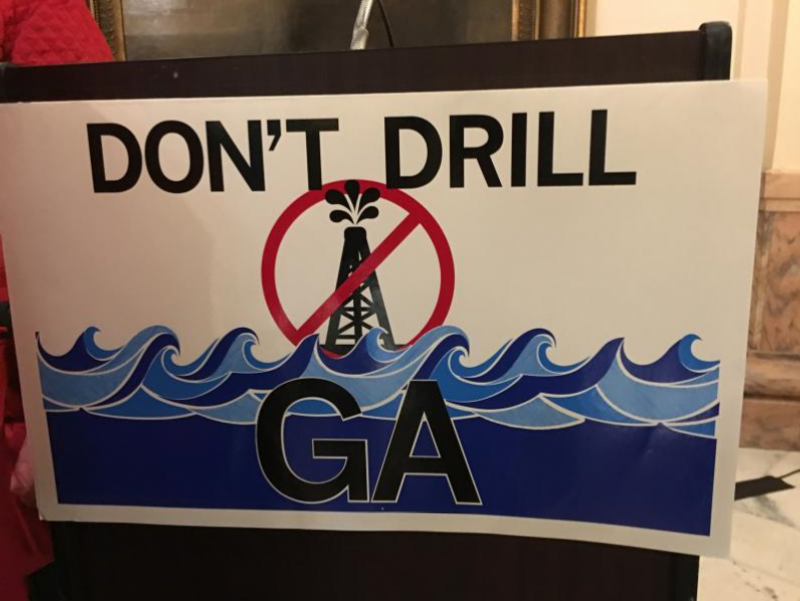A bipartisan group of lawmakers filed legislation that says Georgia should be opposed to offshore drilling.