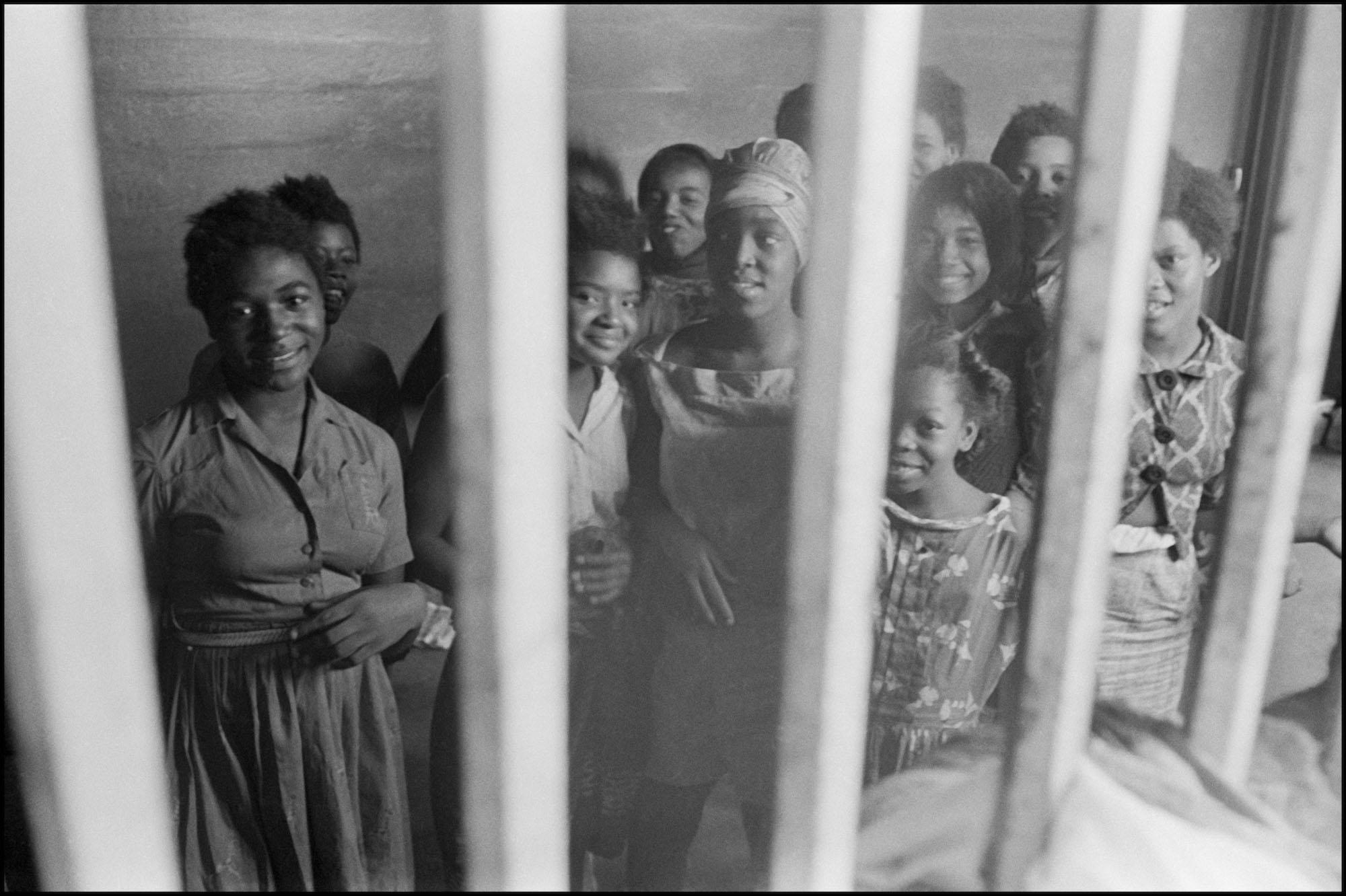 Photographer Danny Lyon was working with SNCC in Atlanta when he was sent to Americus to investigate rumors of the jailed girls from the city.