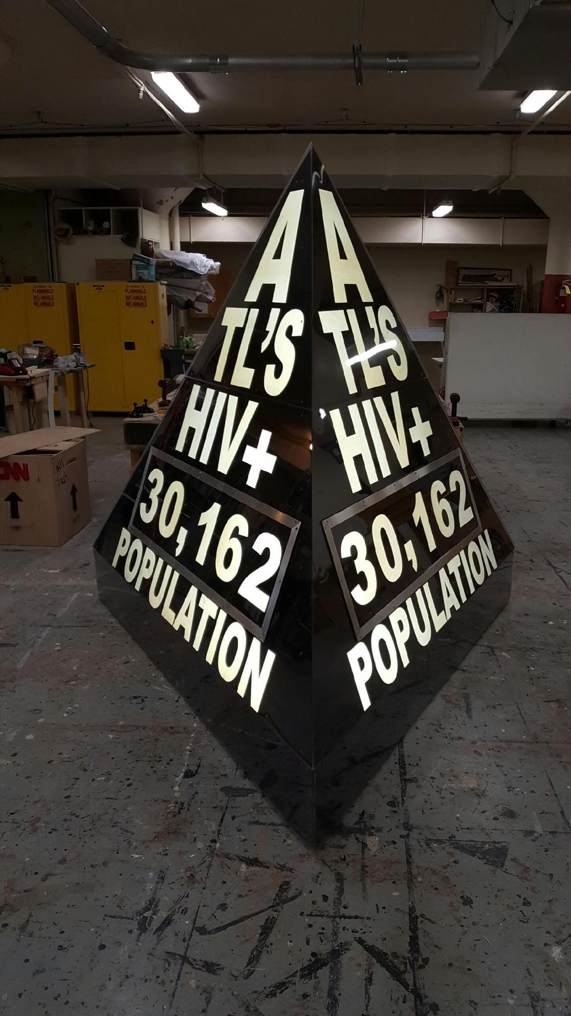 Atlantas HIV Population Now By Atlanta Artist And Activist Matt Terrell