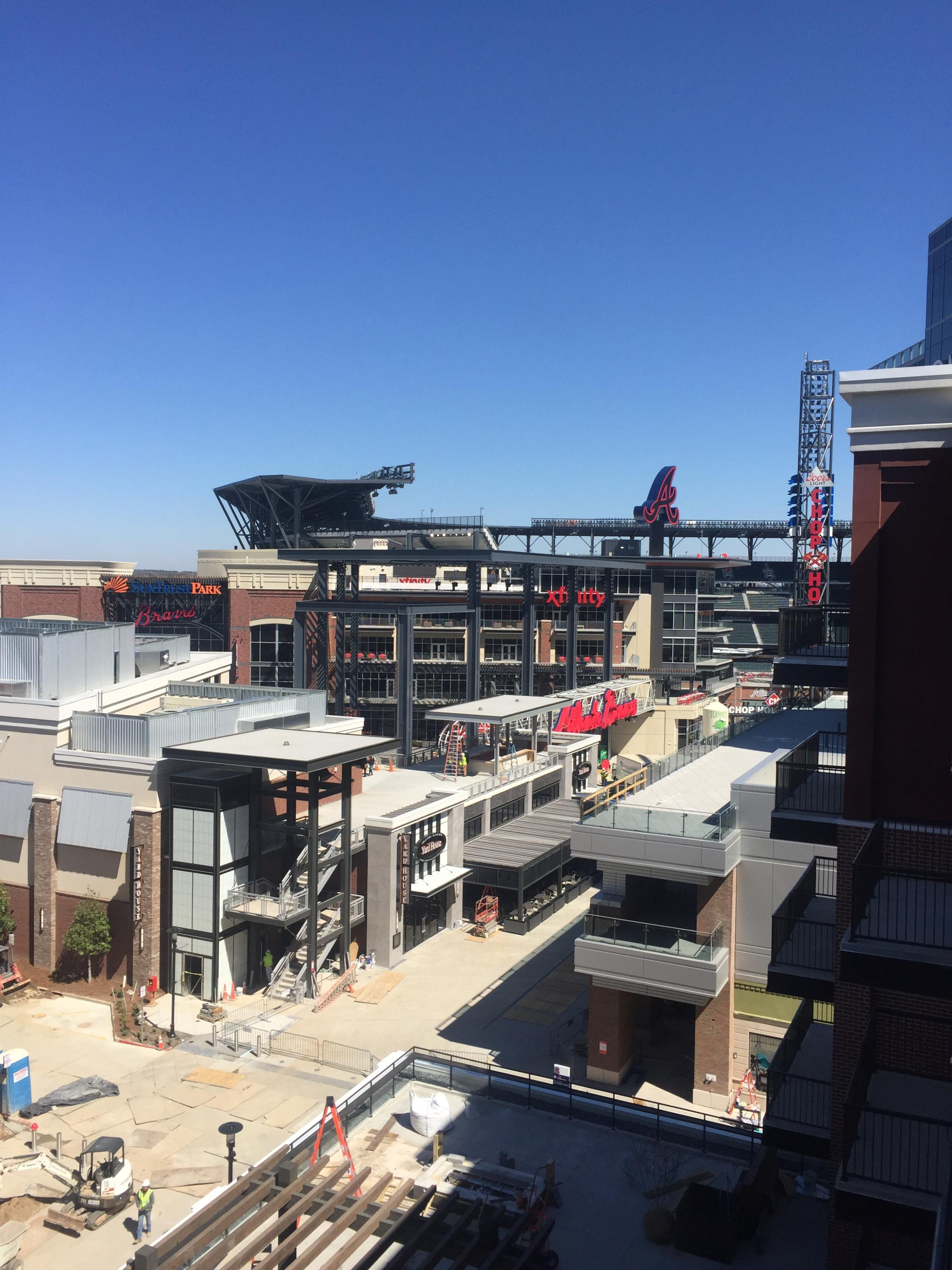 The View Of Suntrust Park From Battery Apartments