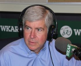 A photo of Michigan Governor Rick Snyder.