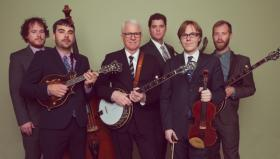 The Steep Canyon Rangers, with Steve Martin, bring bluegrass to MSU's Wharton Center Nov. 4