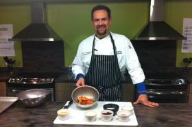Kurt Kwiatkowski is corporate chef for MSU Culinary Services