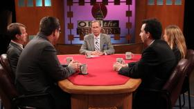 Demas, Livengood, Gorchow, Pluta, appearing on Off the Record with Tim Skubick.