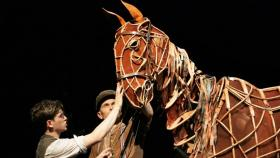 A touching moment from War Horse