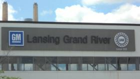General Motors' 'Lansing Grand River' assembly plant, where the Cadillac ATS is made.