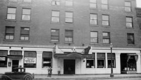 Lansing's Kerns Hotel burned to the ground in December 1934. The fire, however, spawned a volunteer organization that still exists today in Lansing.