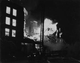 In 1934, 34 people were killed as the Hotel Kerns in Lansing burned to the ground.