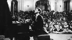 Pianist Van Cliburn was the first musician to be honored with a ticker-tape parade in Manhattan.