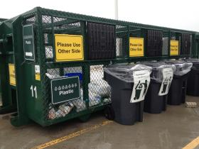 The MSU Surplus store offers extensive recycling resources and dedication to environmental sustainability.