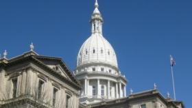 The Capitol in Lansing.