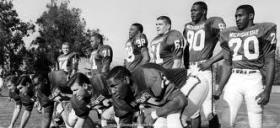 In the 1960s, Michigan State recruited black football players from the South who were unable to play closer to home.